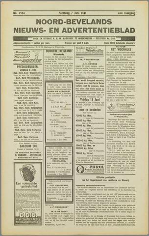 Noord-Bevelands Nieuws- en advertentieblad 1941-06-07