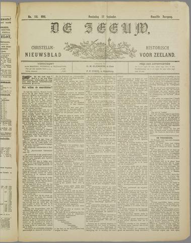 De Zeeuw. Christelijk-historisch nieuwsblad voor Zeeland 1898-09-22