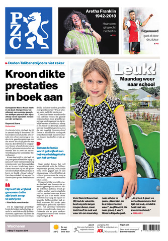 Provinciale Zeeuwse Courant 2018-08-17