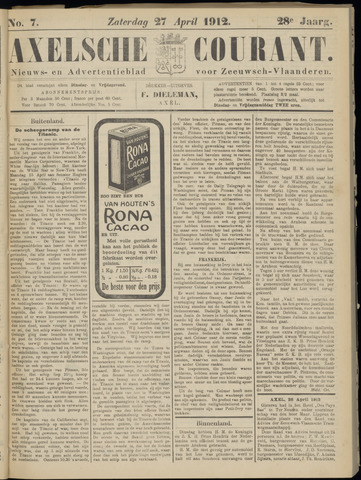 Axelsche Courant 1912-04-27