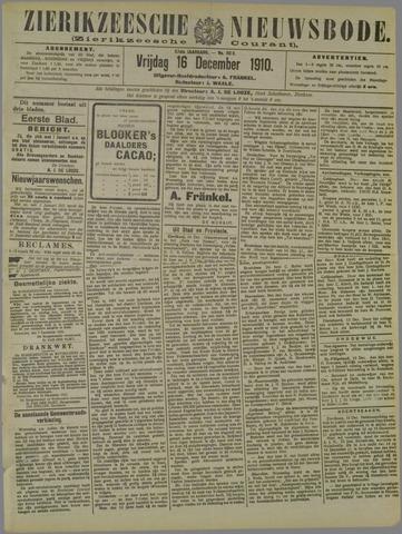 Zierikzeesche Nieuwsbode 1910-12-16