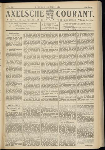 Axelsche Courant 1930-05-20