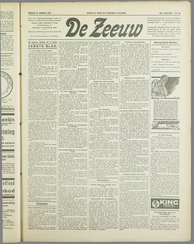 De Zeeuw. Christelijk-historisch nieuwsblad voor Zeeland 1934-01-12