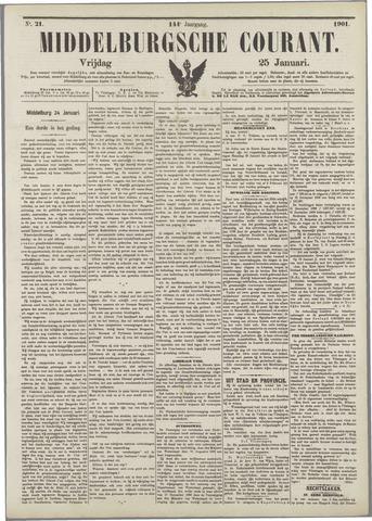 Middelburgsche Courant 1901-01-25