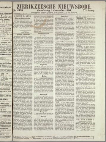 Zierikzeesche Nieuwsbode 1880-12-09