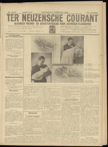 Ter Neuzensche Courant. Algemeen Nieuws- en Advertentieblad voor Zeeuwsch-Vlaanderen / Neuzensche Courant ... (idem) / (Algemeen) nieuws en advertentieblad voor Zeeuwsch-Vlaanderen 1938-02-09