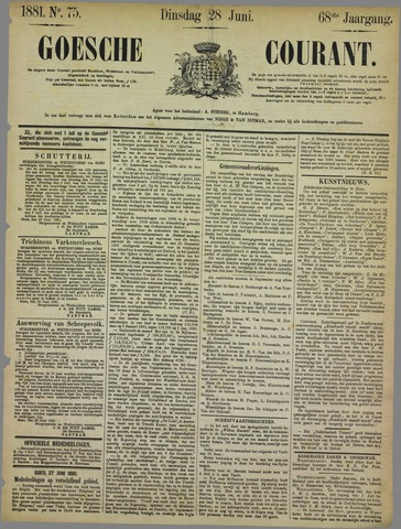 Goessche Courant 1881-06-28