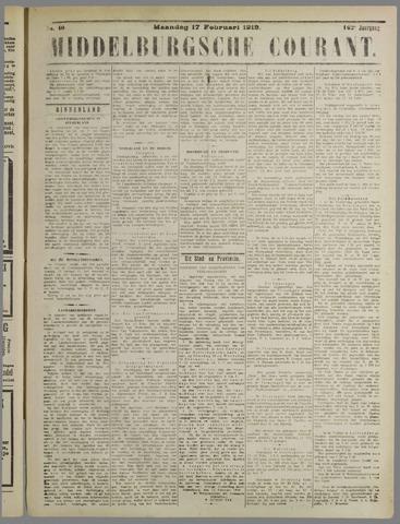 Middelburgsche Courant 1919-02-17