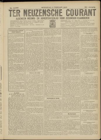 Ter Neuzensche Courant. Algemeen Nieuws- en Advertentieblad voor Zeeuwsch-Vlaanderen / Neuzensche Courant ... (idem) / (Algemeen) nieuws en advertentieblad voor Zeeuwsch-Vlaanderen 1942-02-11