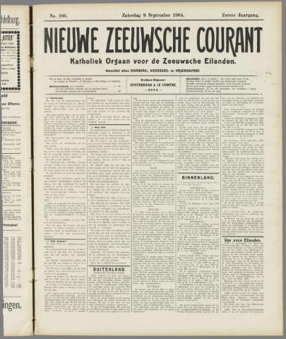 Nieuwe Zeeuwsche Courant 1905-09-09