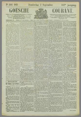 Goessche Courant 1915-09-02