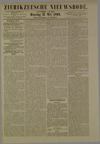 Zierikzeesche Nieuwsbode 1891-05-12