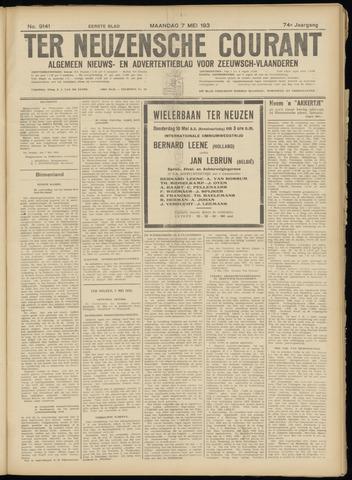 Ter Neuzensche Courant. Algemeen Nieuws- en Advertentieblad voor Zeeuwsch-Vlaanderen / Neuzensche Courant ... (idem) / (Algemeen) nieuws en advertentieblad voor Zeeuwsch-Vlaanderen 1934-05-07