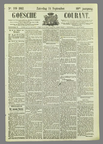 Goessche Courant 1912-09-14