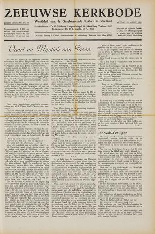 Zeeuwsche kerkbode, weekblad gewijd aan de belangen der gereformeerde kerken/ Zeeuwsch kerkblad 1951-03-23