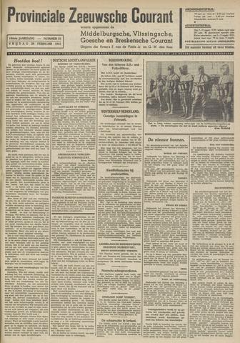 Provinciale Zeeuwse Courant 1941-02-28