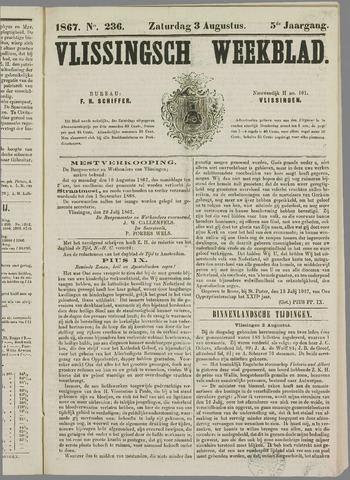 Vlissings Weekblad 1867-08-03