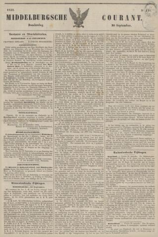 Middelburgsche Courant 1852-09-30