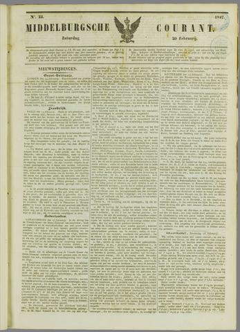 Middelburgsche Courant 1847-02-20