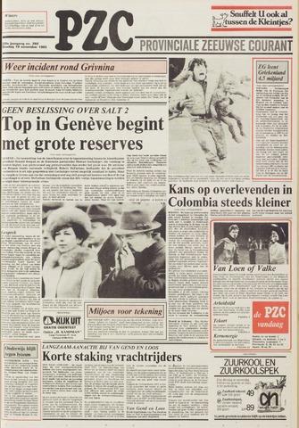 Provinciale Zeeuwse Courant 1985-11-19