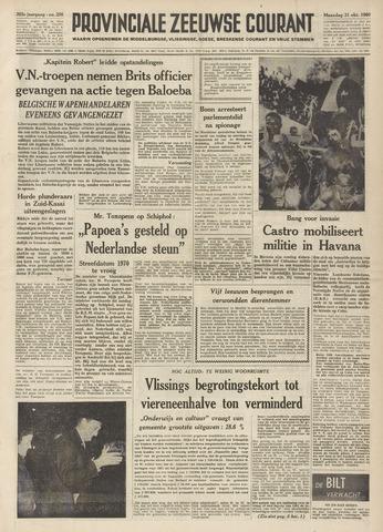 Provinciale Zeeuwse Courant 1960-10-31
