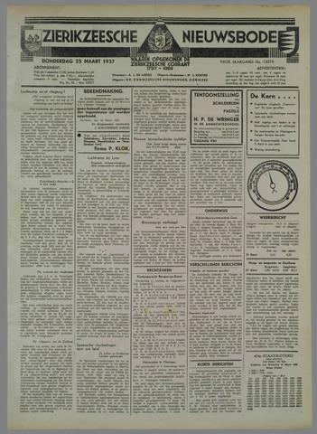 Zierikzeesche Nieuwsbode 1937-03-25