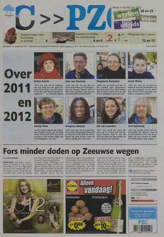 Provinciale Zeeuwse Courant 2011-12-31