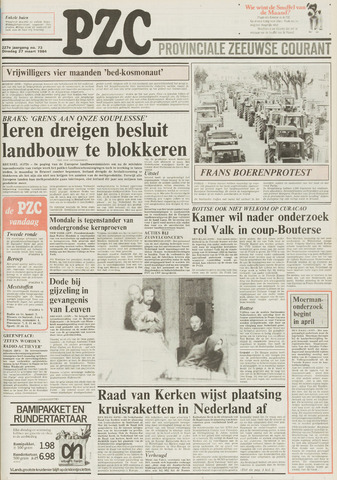 Provinciale Zeeuwse Courant 1984-03-27