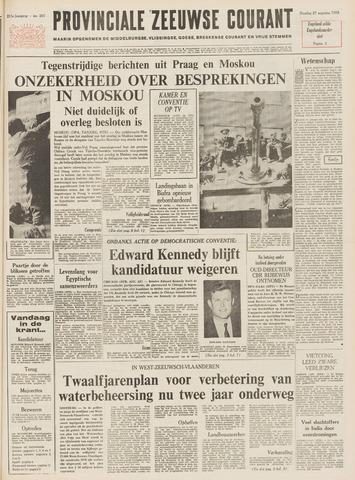 Provinciale Zeeuwse Courant 1968-08-27