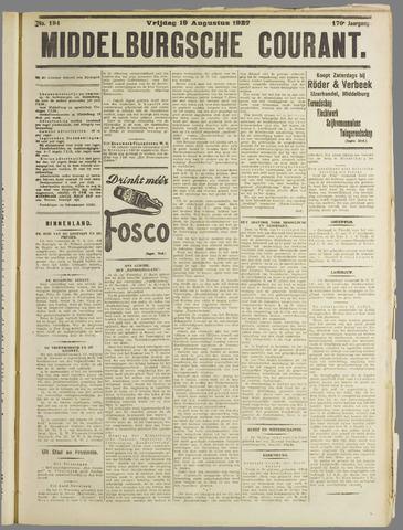 Middelburgsche Courant 1927-08-19