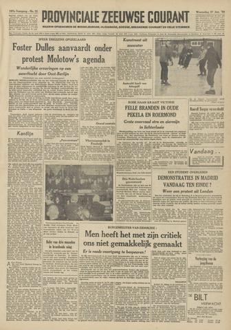 Provinciale Zeeuwse Courant 1954-01-27