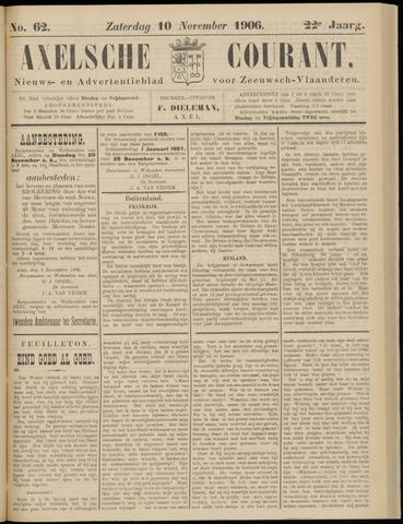 Axelsche Courant 1906-11-10