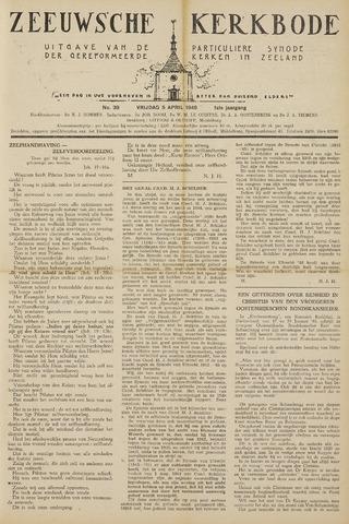 Zeeuwsche kerkbode, weekblad gewijd aan de belangen der gereformeerde kerken/ Zeeuwsch kerkblad 1946-04-05