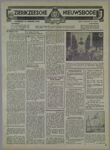 Zierikzeesche Nieuwsbode 1942-01-31