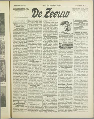 De Zeeuw. Christelijk-historisch nieuwsblad voor Zeeland 1934-03-21