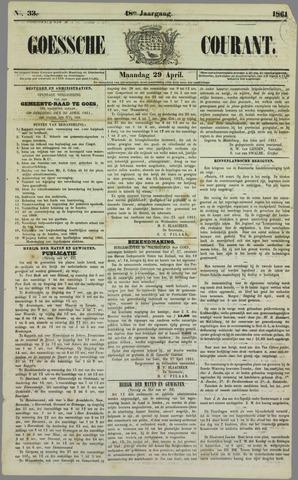 Goessche Courant 1861-04-29
