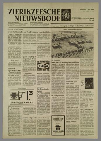 Zierikzeesche Nieuwsbode 1965-04-01