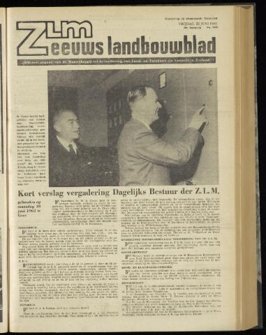 Zeeuwsch landbouwblad ... ZLM land- en tuinbouwblad 1962-06-22