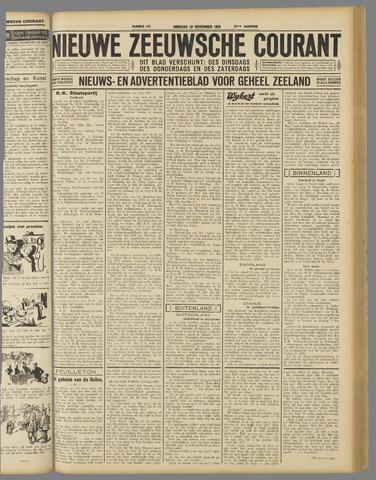 Nieuwe Zeeuwsche Courant 1931-11-10