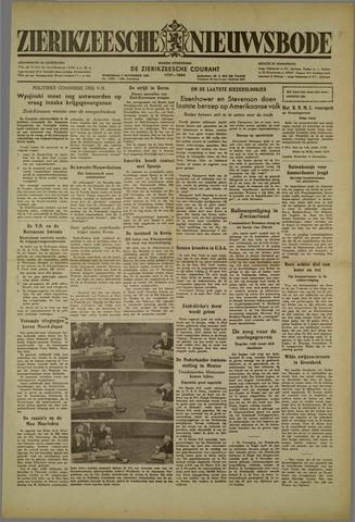 Zierikzeesche Nieuwsbode 1952-11-05