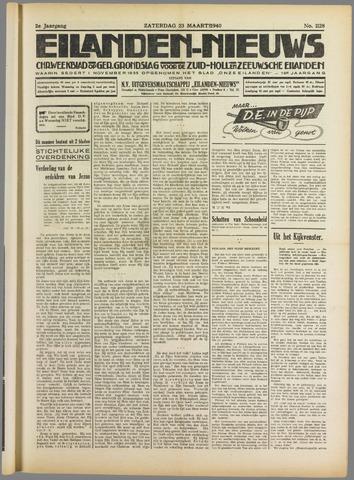 Eilanden-nieuws. Christelijk streekblad op gereformeerde grondslag 1940-03-23