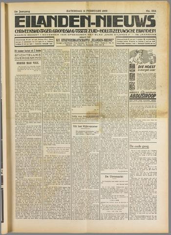 Eilanden-nieuws. Christelijk streekblad op gereformeerde grondslag 1939-02-11