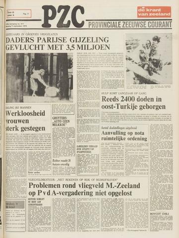 Provinciale Zeeuwse Courant 1975-09-09