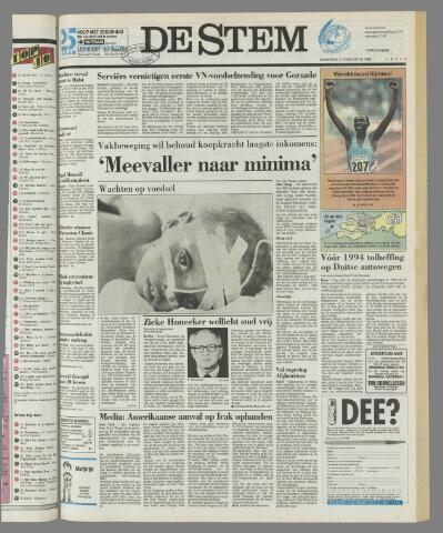 de Stem 1992-08-17