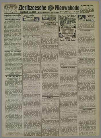 Zierikzeesche Nieuwsbode 1930-01-06