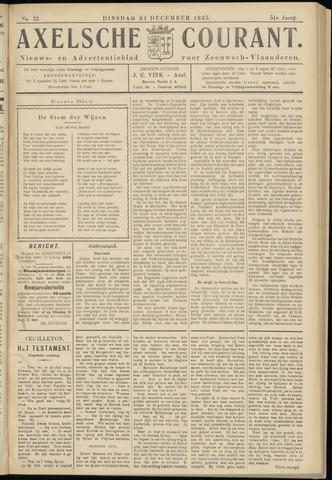 Axelsche Courant 1935-12-24