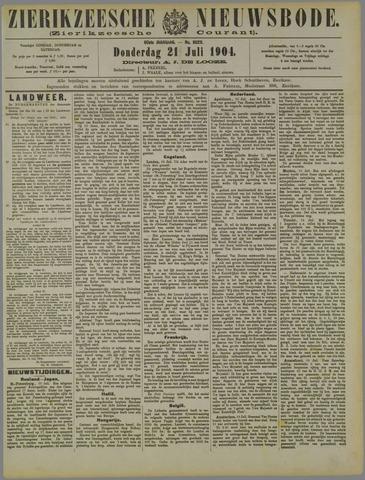 Zierikzeesche Nieuwsbode 1904-07-21