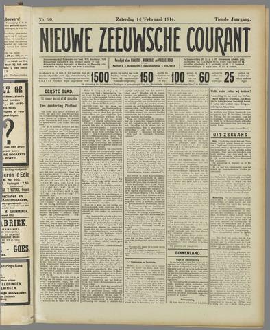 Nieuwe Zeeuwsche Courant 1914-02-14