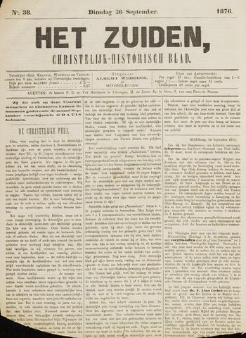 Het Zuiden, Christelijk-historisch blad 1876-09-26