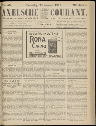 Axelsche Courant 1913-10-22